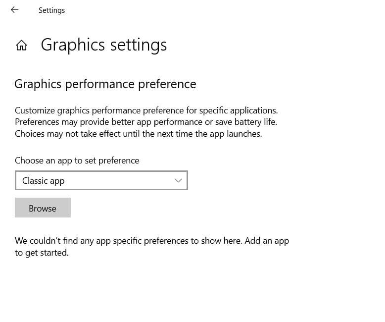 Choose the graphics card to use with Windows 10 - Image 2