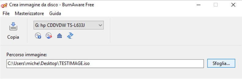 Create backup image of CDs and DVDs - Image 6