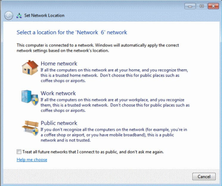 Difference between public network and private network in Windows 10 -Image 1