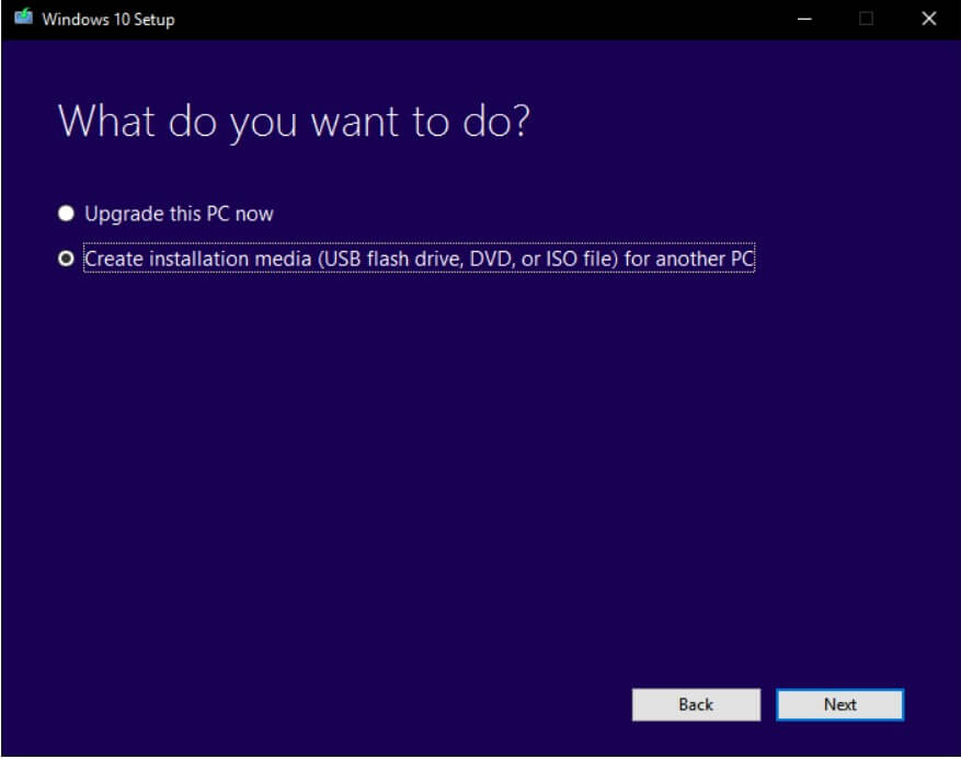 Windows 10 ISO with the Media Creation Tool - Image 1