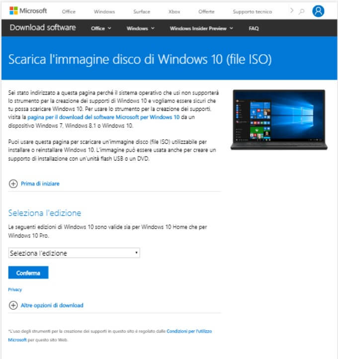 Download the Windows 10 ISO without going through the Media Creation Tool - Image 2