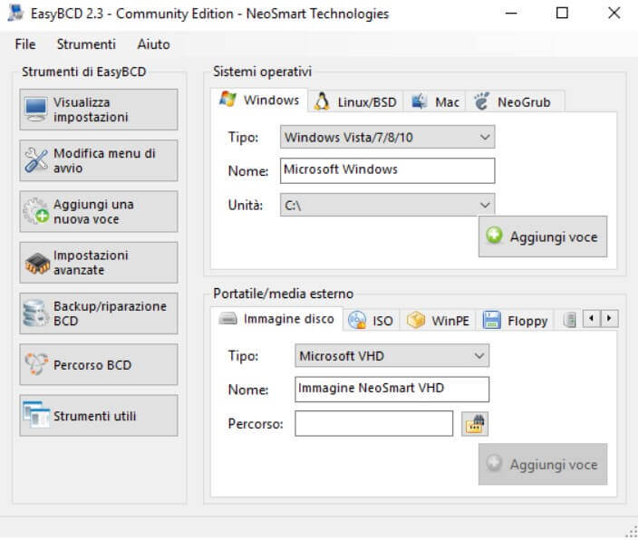 EasyBCD, manage the Windows boot menu and start ISO files - Image 4