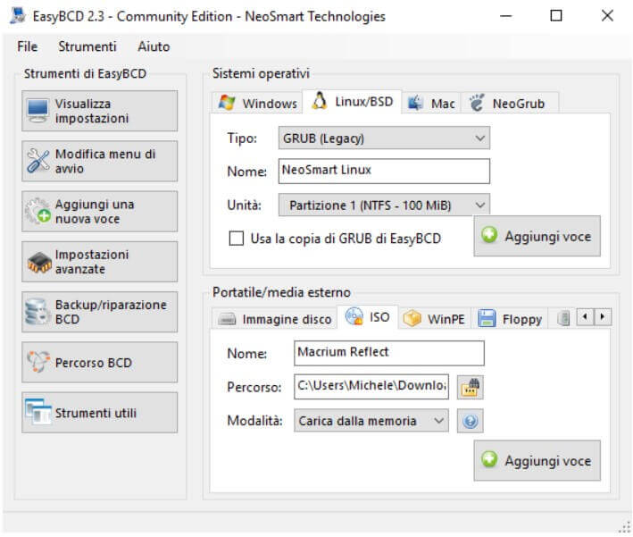 EasyBCD, manage the Windows boot menu and start ISO files - Image 5