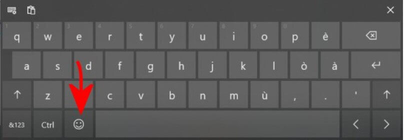 Emoji keyboard in Windows 10: What it is and How it works - Step 3