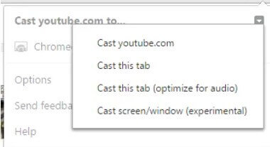 Extend the screen in Windows with Chromecast - Image 5