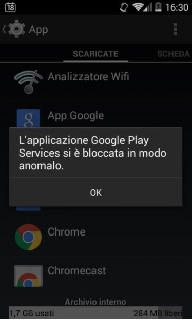 Google Play Services has crashed - How to fix - Image 1