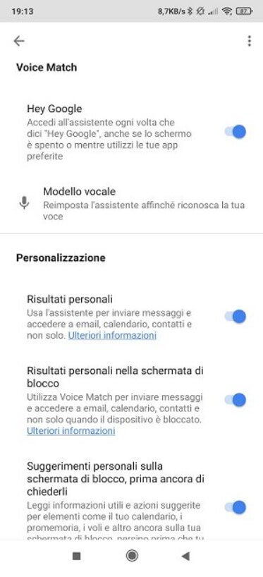 How To activate OK Google on your devices - Step 5