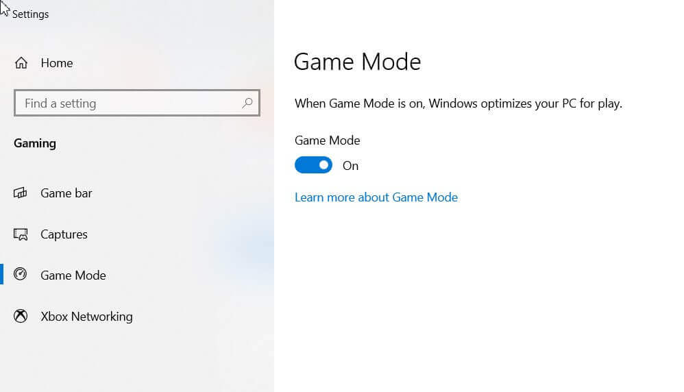 How to activate game mode in Windows 10 and use it to speed up programs too - Image 1