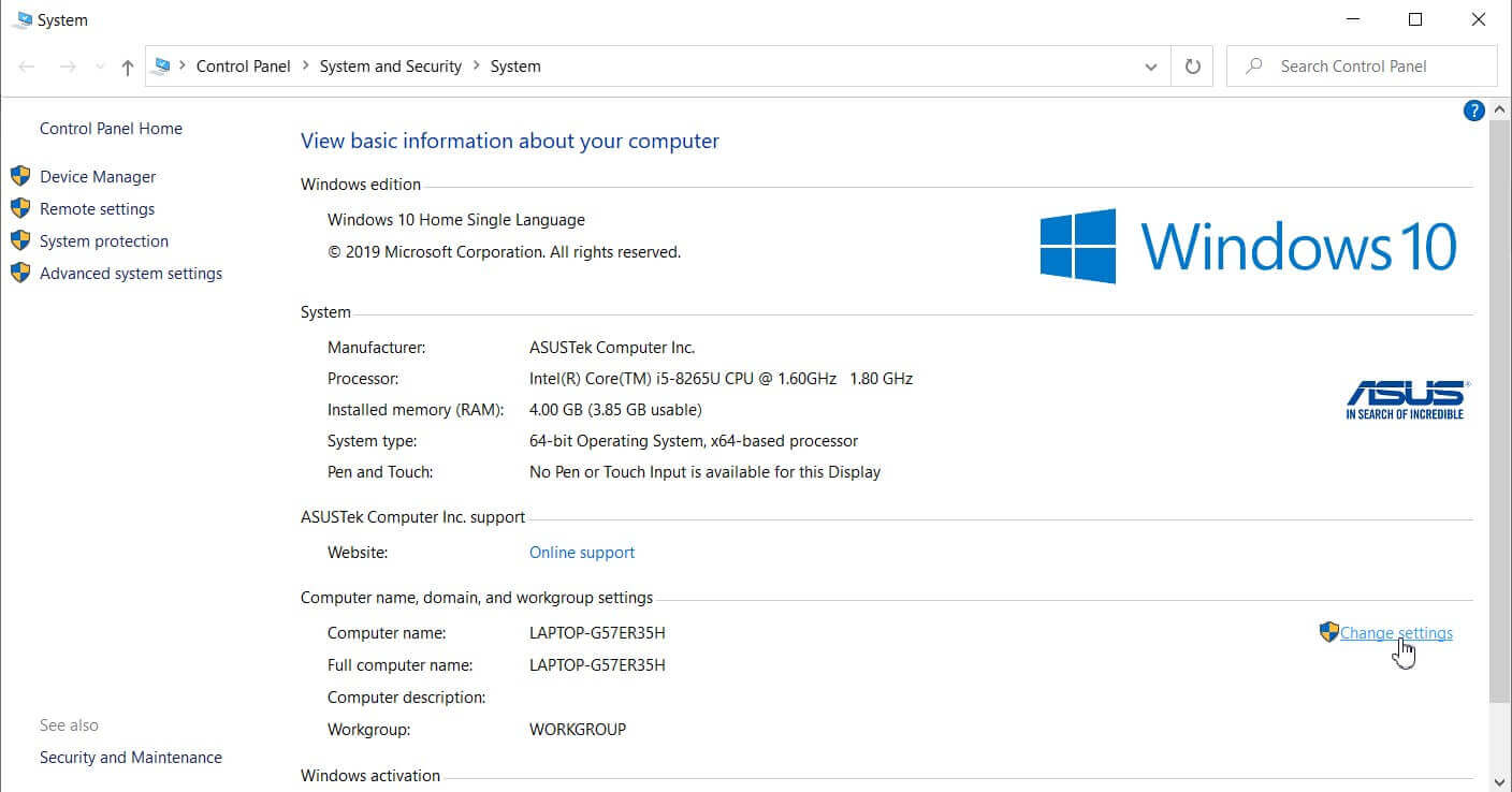 How to check if Windows is activated