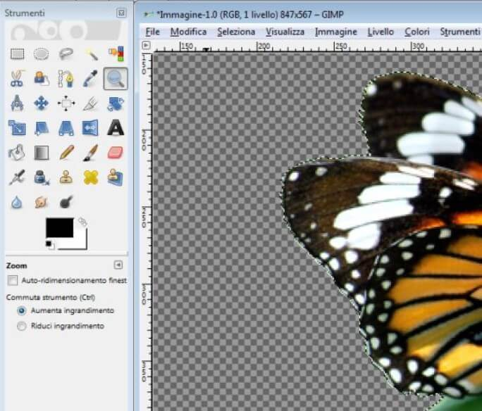 How to remove the background from any photo with GIMP - Image 2