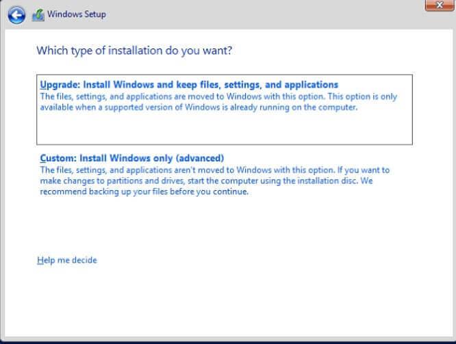 Switch from Windows 32-bit to 64-bit - Step 3