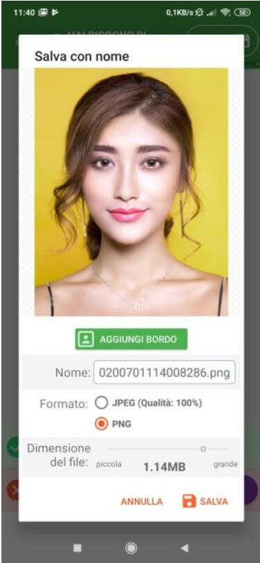 Passport photo, how to create it with an Android smartphone - Image 5
