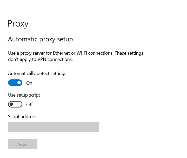 Proxy error in Windows 10 with any browser: how to fix - Image 1