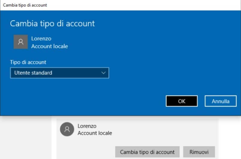 Next to the item Access allowed, Windows will indicate the time windows in which the user account's use is allowed.
