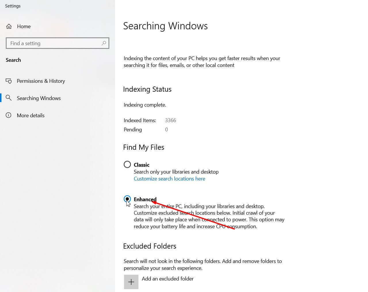 Search for files on your Windows 10 PC: How the new search works - Step 4
