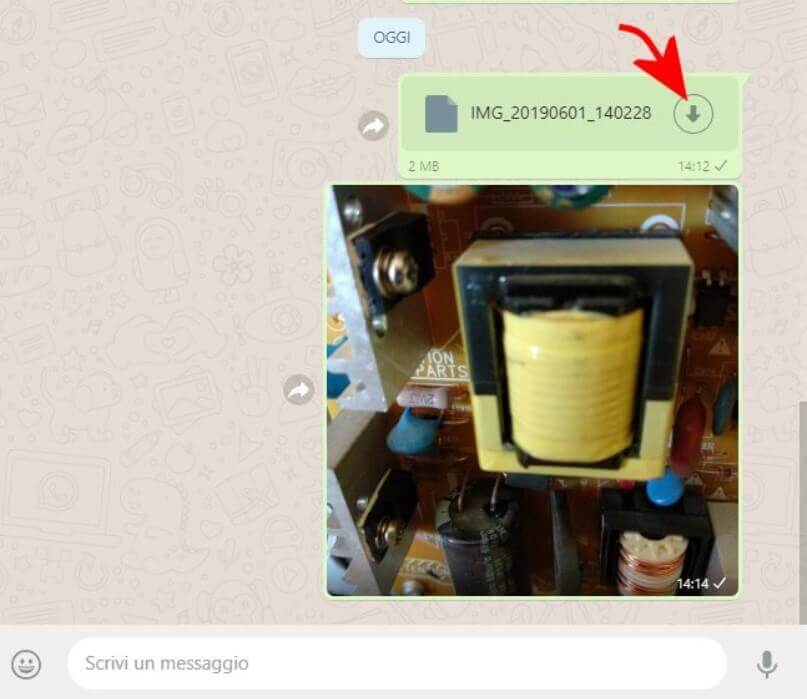 Use WhatsApp to share images at full resolution, without quality loss?