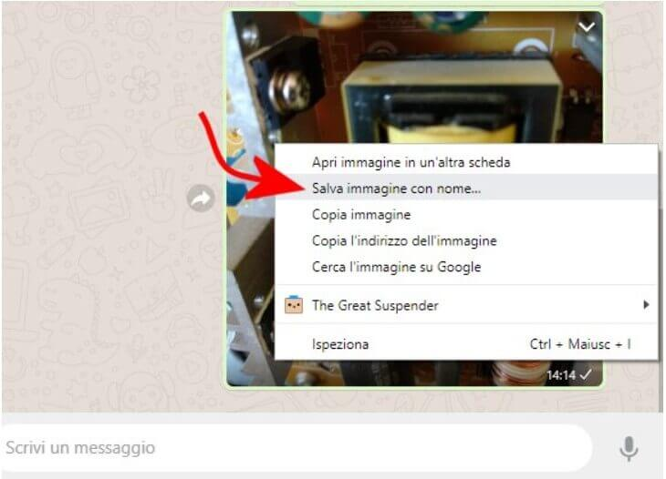 Use WhatsApp to share images at full resolution, without quality loss..