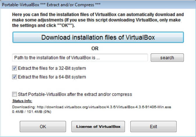 USB Portable Operating System with Virtualbox Portable - Step 3