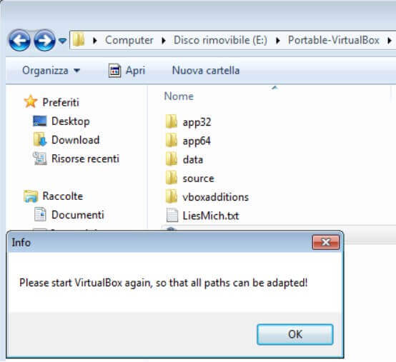 USB Portable Operating System with Virtualbox Portable - Step 5