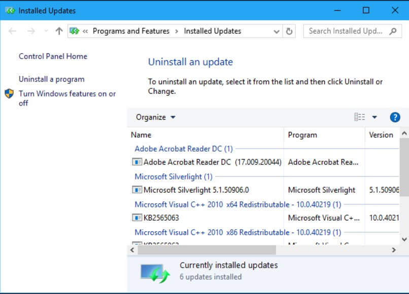 Uninstall Windows 10 updates: what to do if you have problems - Image 2