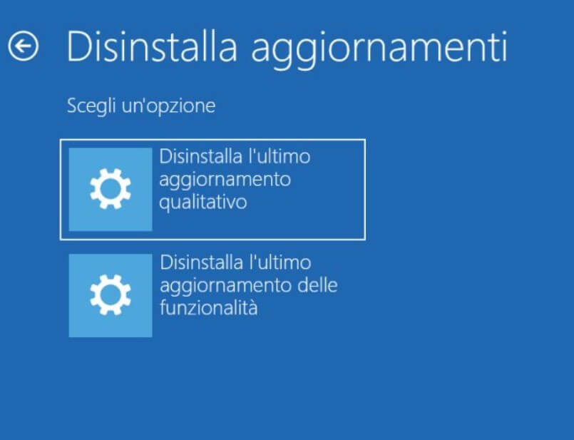Uninstall Windows 10 updates: what to do if you have problems - Image 6