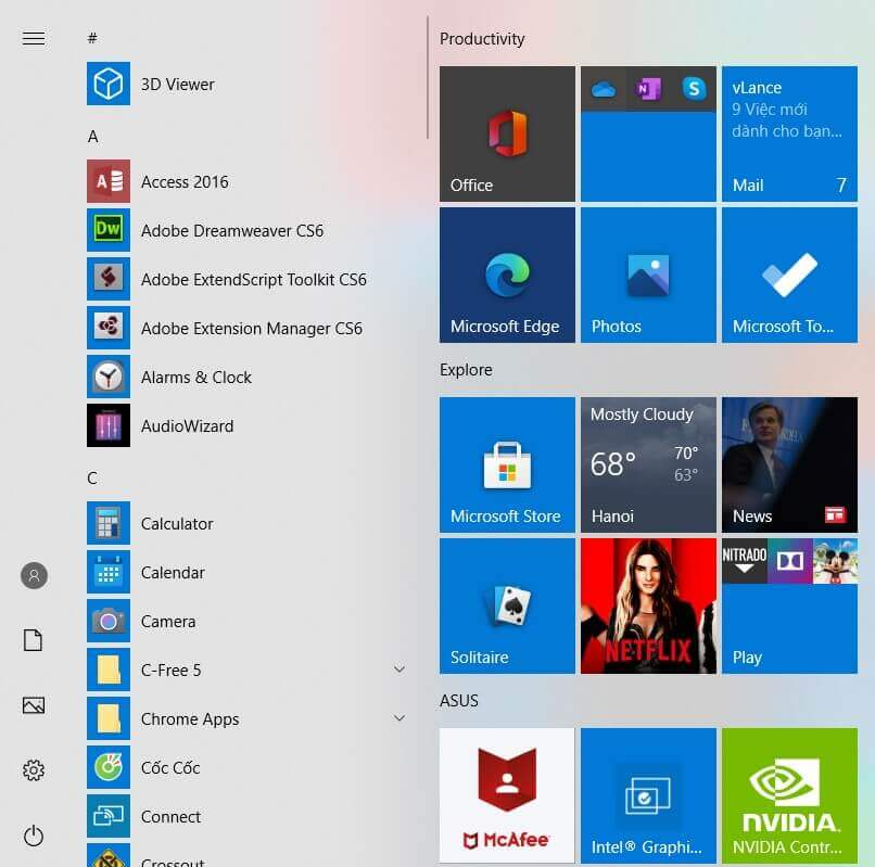 Windows 10 Start Menu: How To Restore that of Previous Versions - Step 3