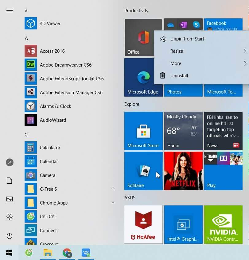 Windows 10 Start Menu: How To Restore that of Previous Versions - Step 4