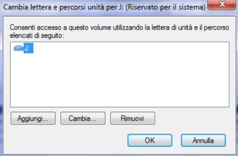 System Reserved partition then click Remove