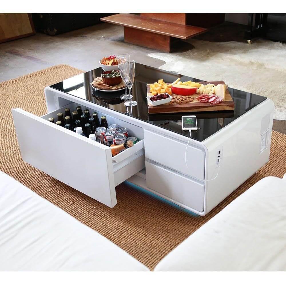 Modern Coffee Table by Hammacher Schlemmer