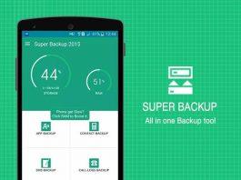 How super backup & restore app works