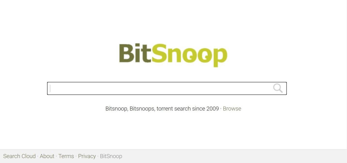 BitSnoop - TorrentReactor Alternatives