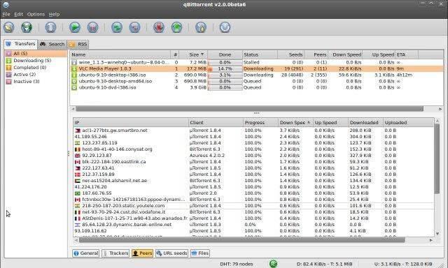 QTorrent - TorrentReactor Alternatives