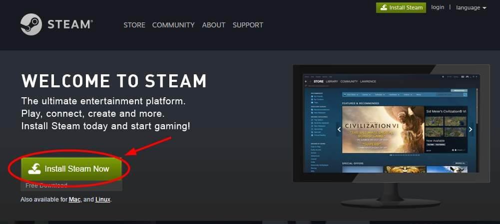 Reinstall the Steam Client