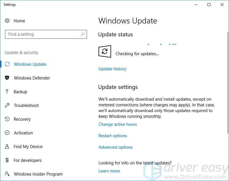 Update the OS and Drivers - Step 3