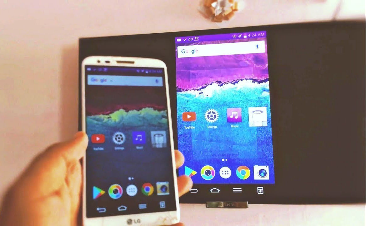 How to mirror phone to TV without Wi-Fi
