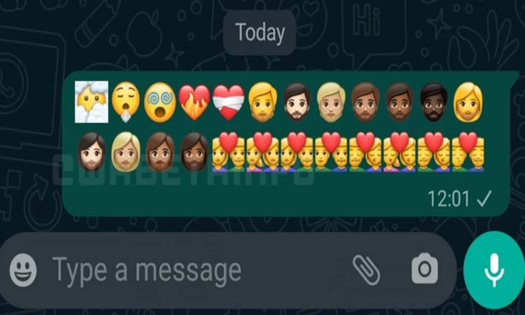 All the new emojis coming to WhatsApp