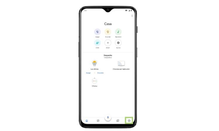 Cast your screen with a Google Chromecast step1