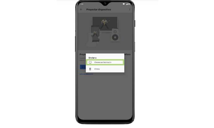 Cast your screen with a Google Chromecast step3