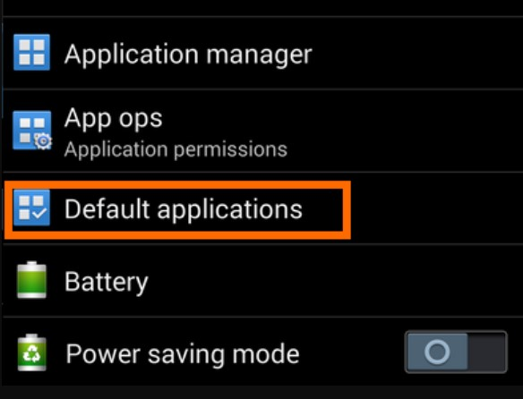 Choose the option Default options 2