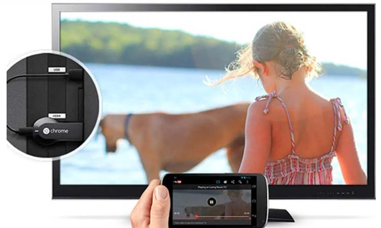 Duplicate the screen of your Android on a TV so you can share with and without cables