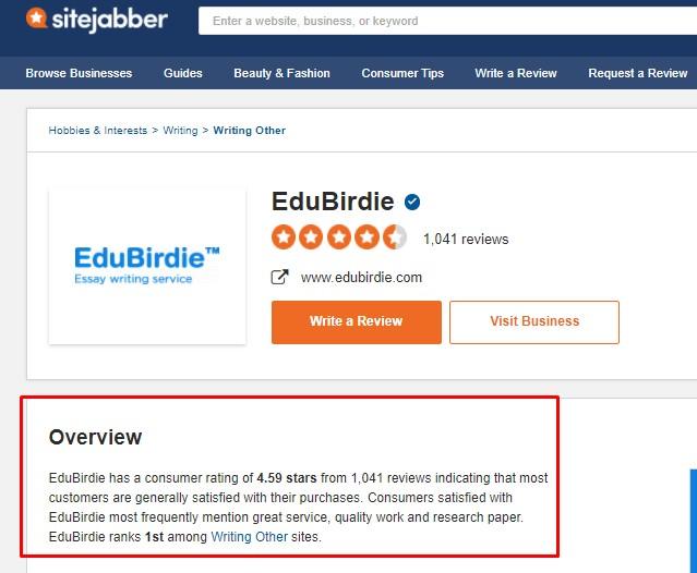 Best EduBirdie Review - Image 6