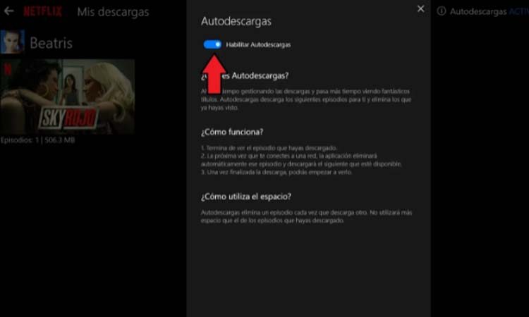 How to download episodes of a Netflix series automatically step4