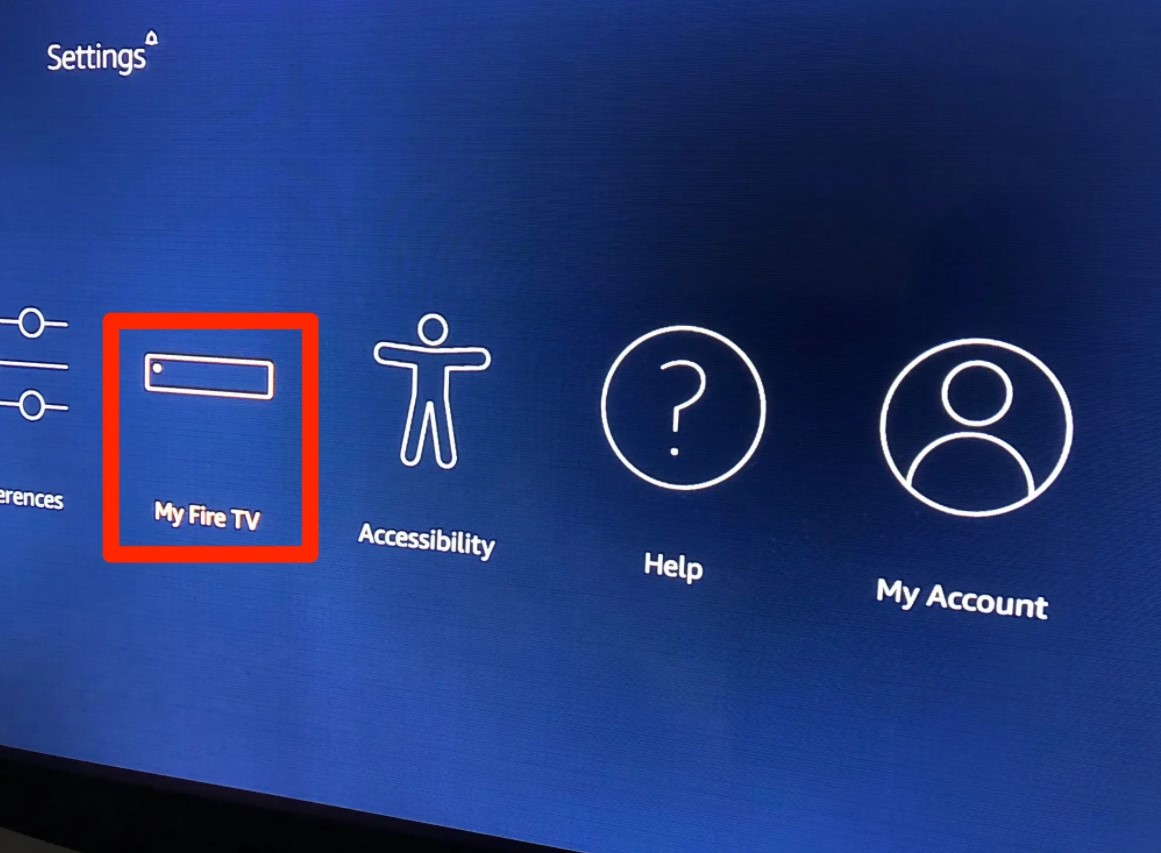 Select My Fire TV or My Device