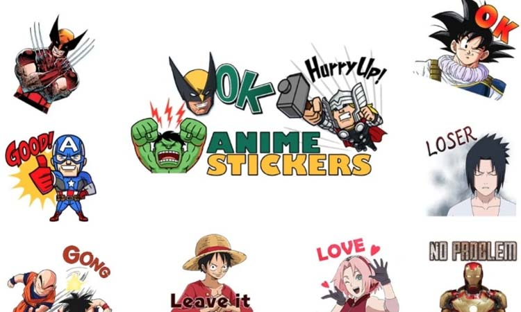 Series TV and movie sticker packs