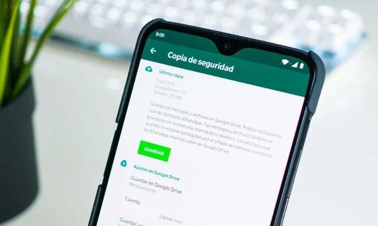 Spy on WhatsApp using WhatsApp backups