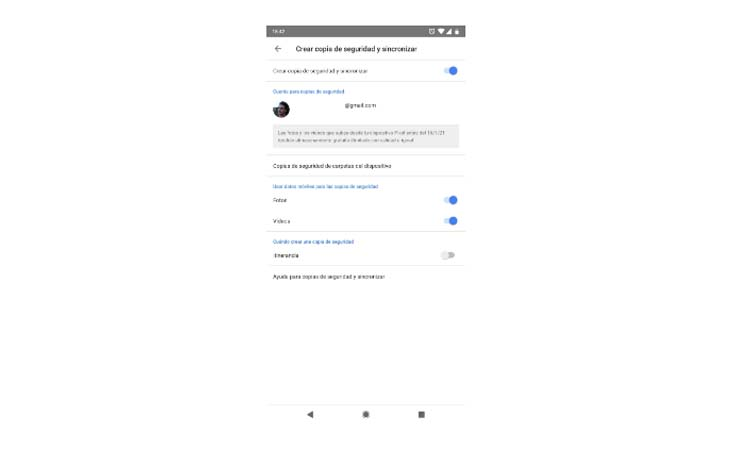 The automatic way with your Google account 2 step2