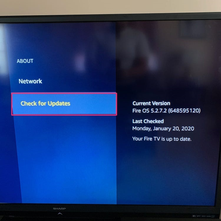 Update Your Fire TV Stick Software - Image 1