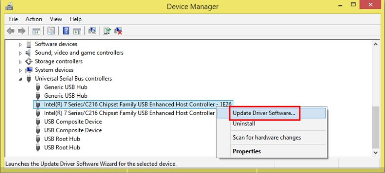 fix device not migrated USB error - Step 3