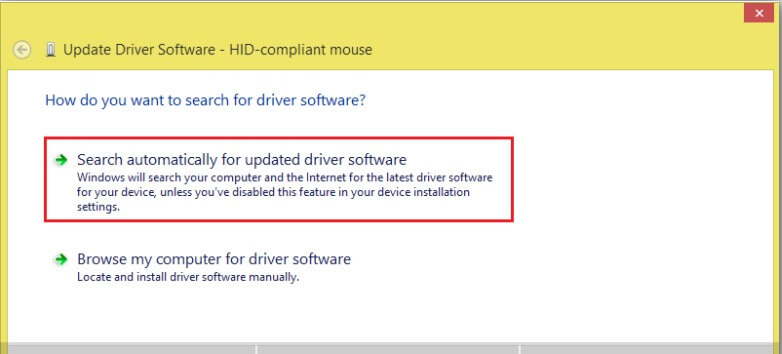 fix device not migrated USB error - Step 4