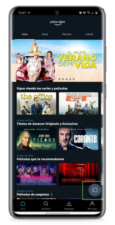 series and movies on your Chromecast